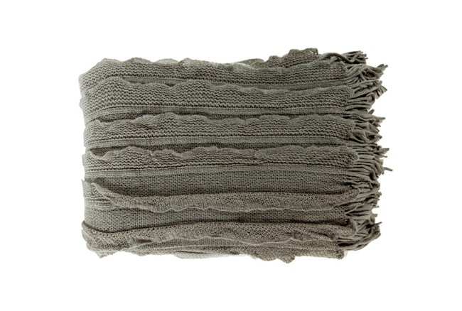 Accent Throw-Gabbi Charcoal - 360