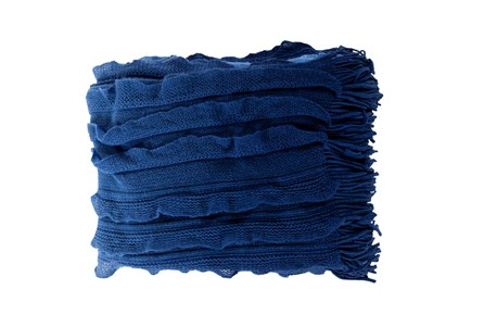 Accent Throw-Gabbi Azul