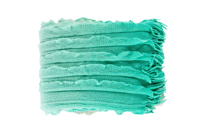 Accent Throw-Gabbi Mint - 360