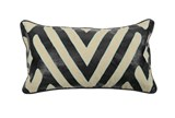 Accent Pillow-Zabella Sky Black 14X26 - Signature
