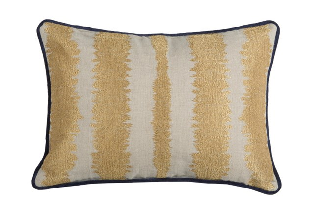 Accent Pillow-Talbot Indigo Gold 14X20 - 360