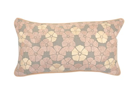 Accent Pillow-Gable Blush 14X26 - Main