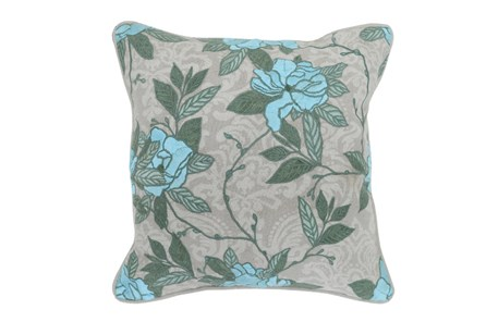 Accent Pillow-Finola Crystal Blue 18X18 - Main