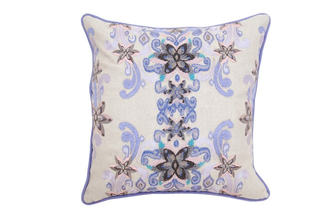 Accent Pillow-Riya Lavendar 18X18 - 360