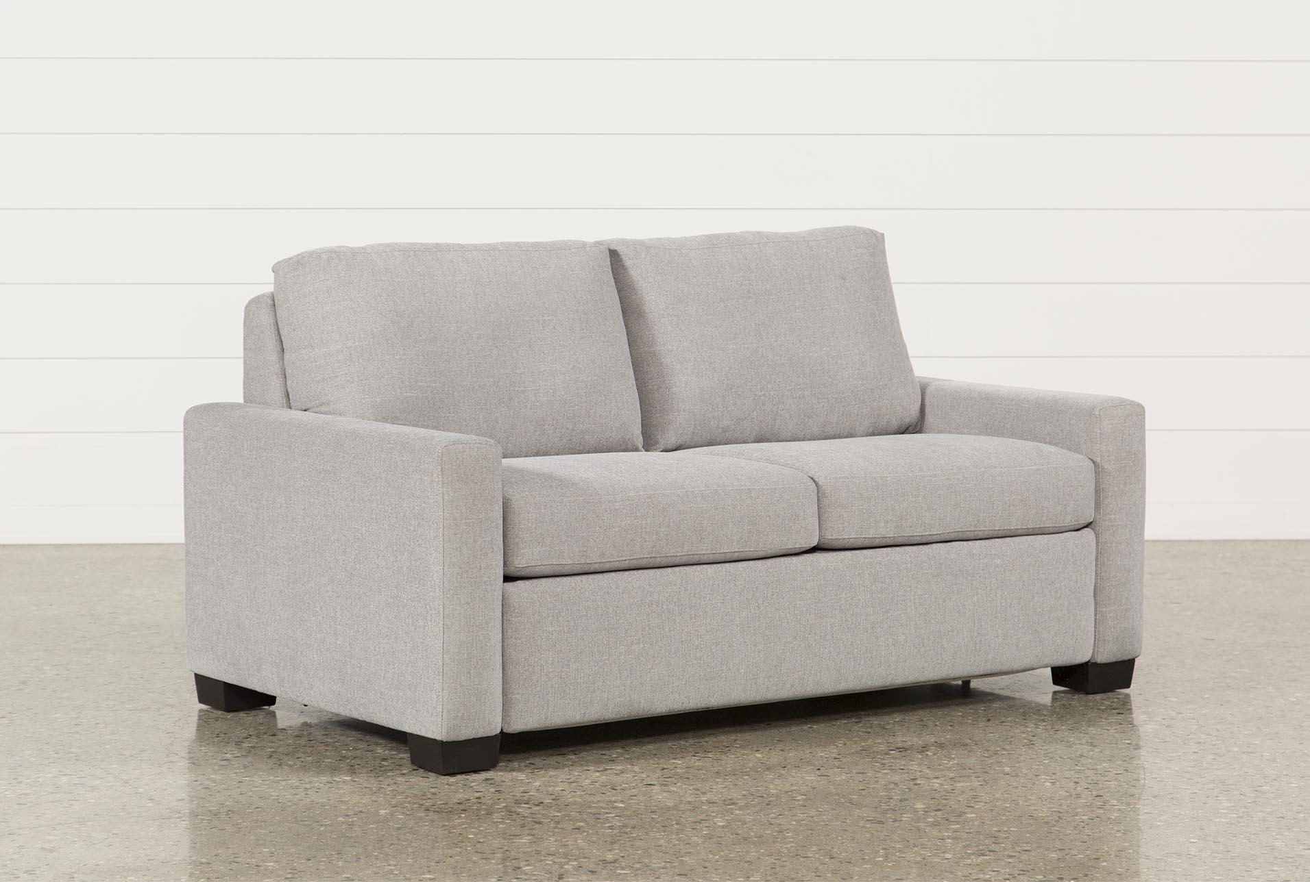 mackenzie silverpine full sofa sleeper living spaces rh livingspaces com full size sleeper sofa ikea full size sleeper sofa sale