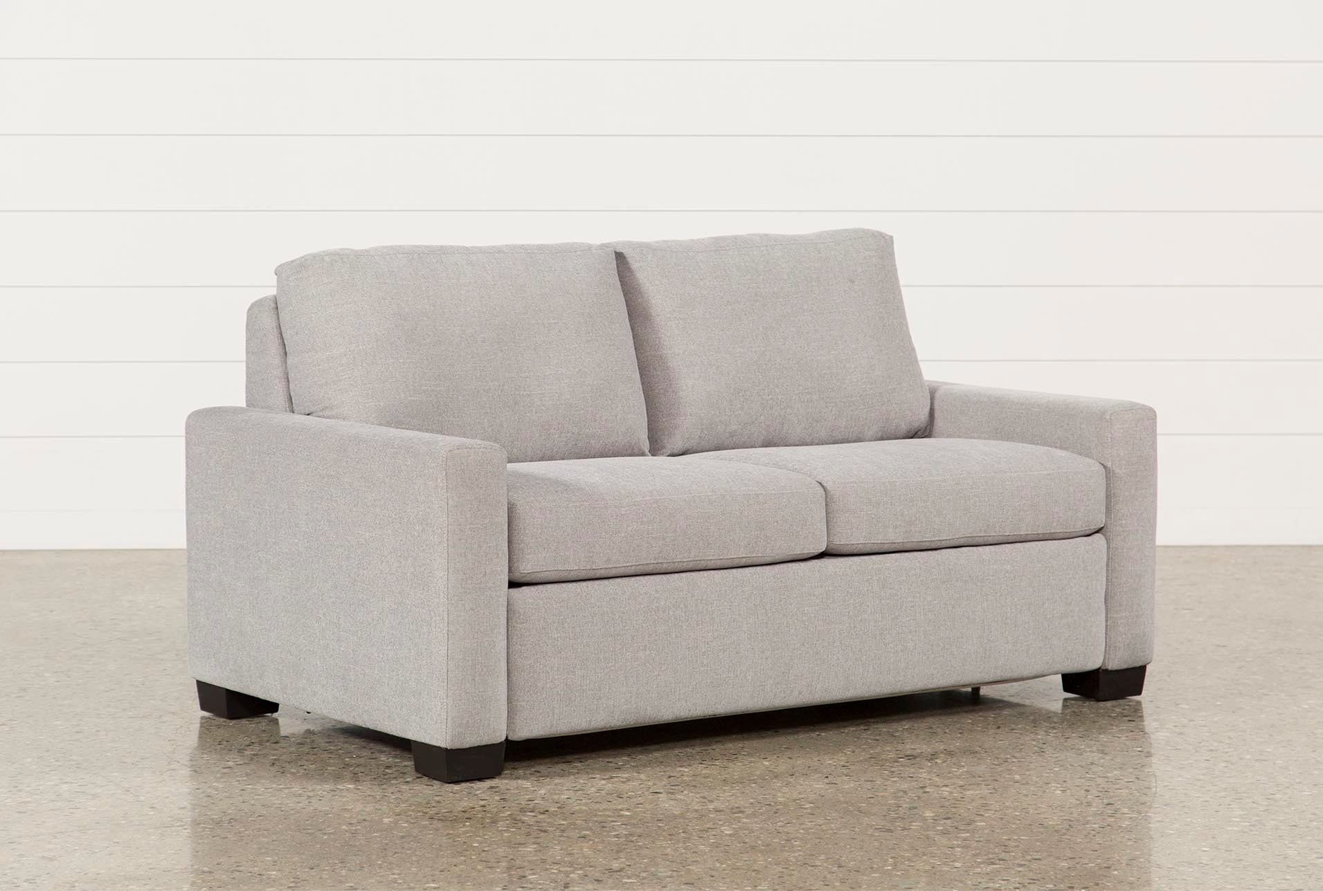 mackenzie silverpine full sofa sleeper living spaces