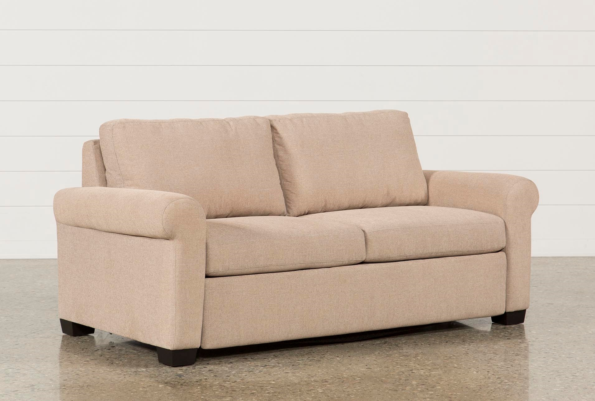 Sofa Beds Free Assembly With Delivery Living Spaces ~ Leather Sleeper Sofa Queen