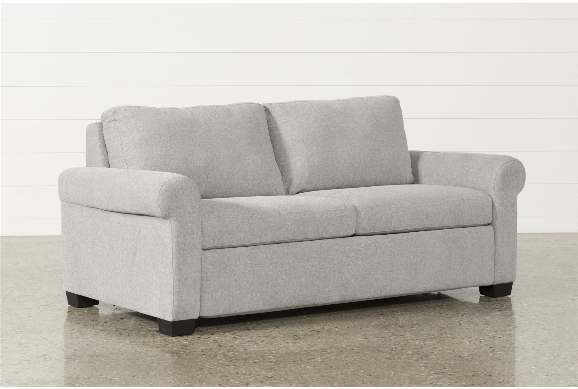 Alexis Silverpine Queen Sofa Sleeper Living Spaces ~ Queen Sleeper Sofa Dimensions When Open