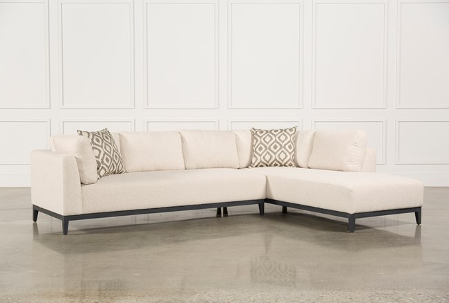 Avalon 2 Piece Sectional W/Raf Chaise - 360