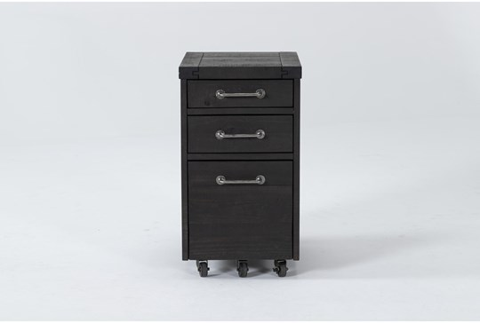 Jaxon Mobile Filing Cabinet With 3 Drawers