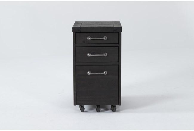 Jaxon Mpobile Filing Cabinet With 3 Drawers - 360