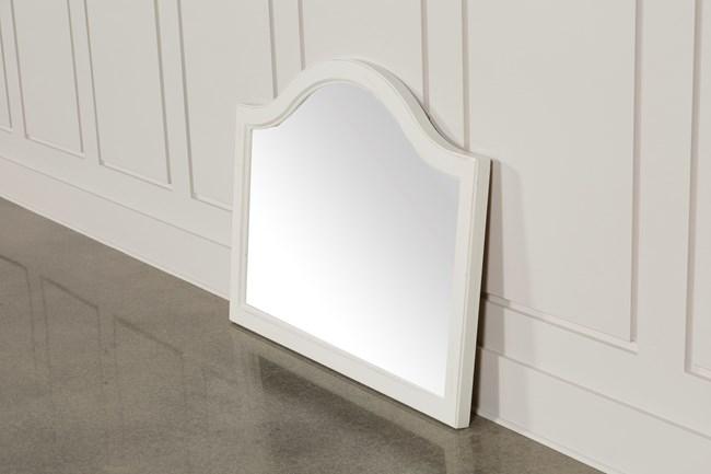 Ashlyn White Mirror - 360