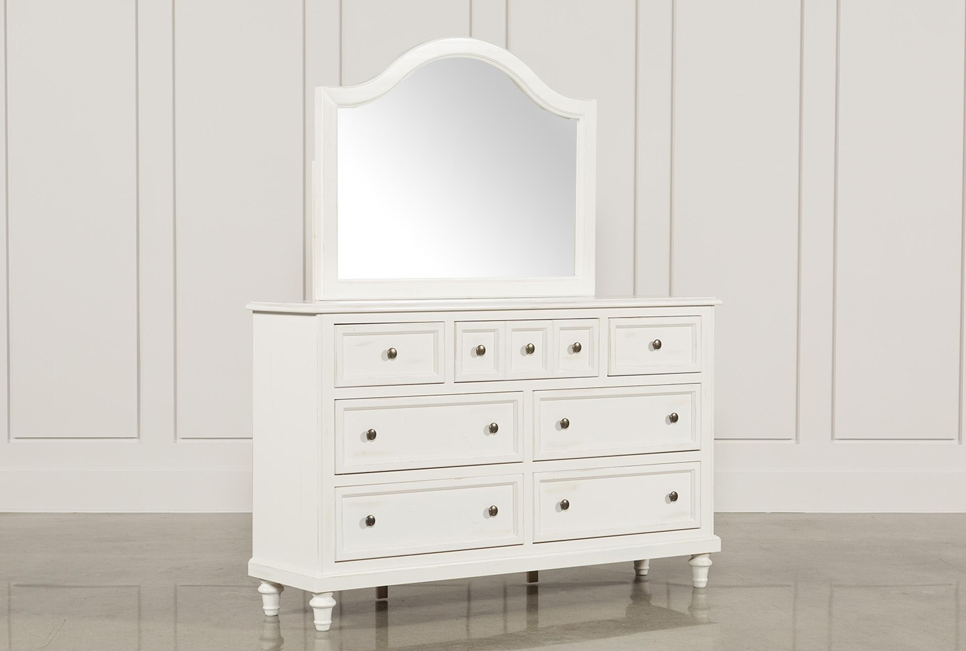 Ashlyn White Dresser/Mirror   360