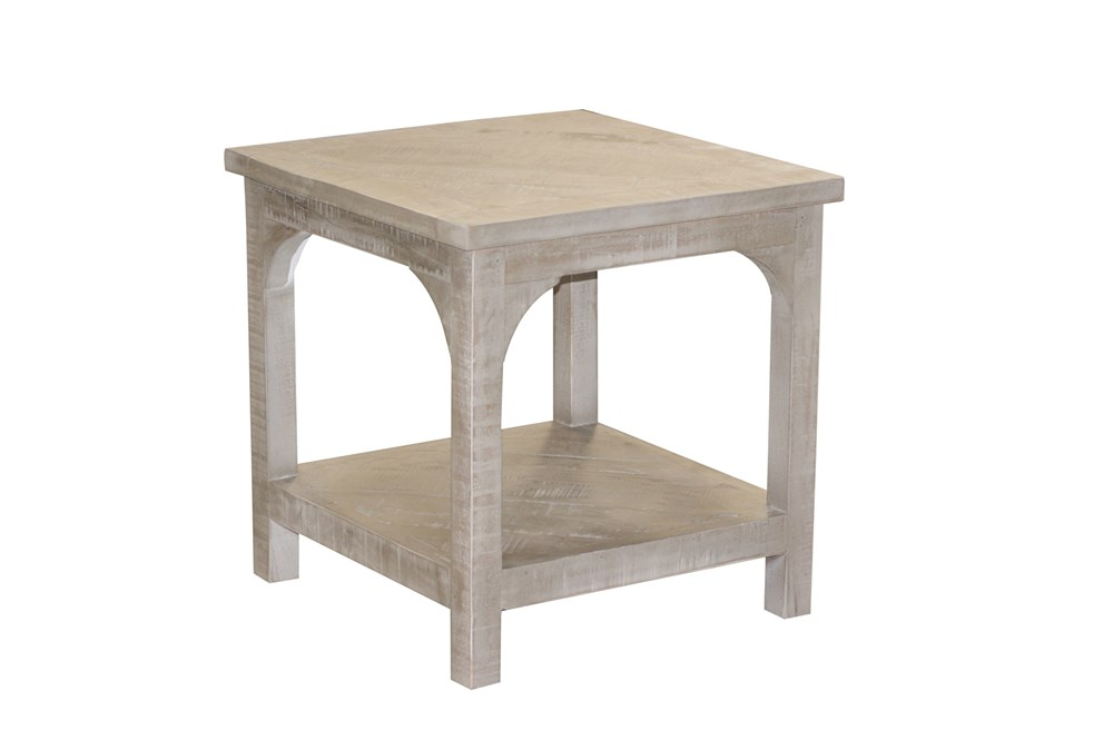 Pickle Grey Side Table
