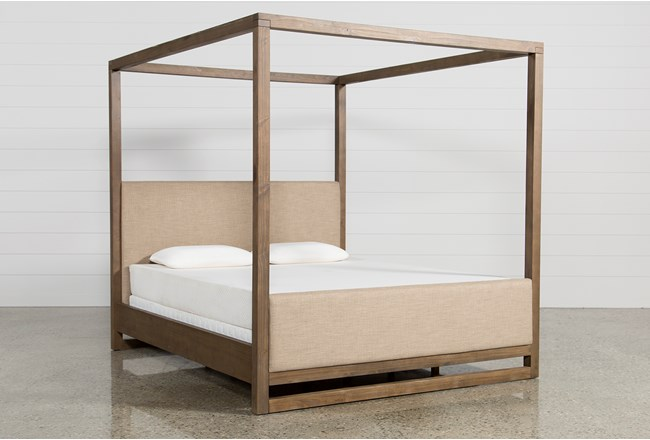 Nelson Queen Canopy Bed 360