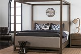 Nelson Queen Canopy Bed - Room