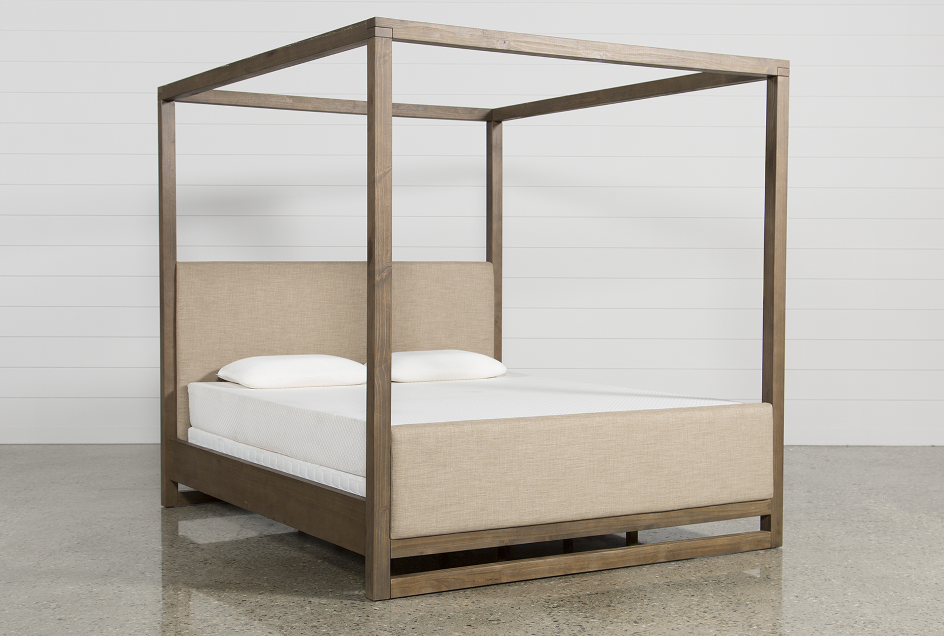 Added to Cart. Nelson California King Canopy Bed ... & Nelson California King Canopy Bed | Living Spaces