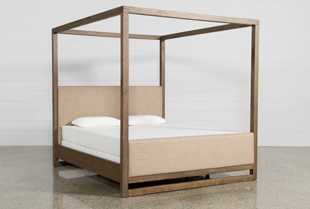 Nelson Eastern King Canopy Bed