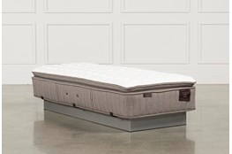 Scarborough Firm Euro Pillow Top Cal King Split Mattress