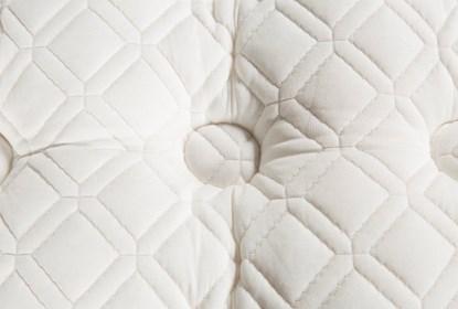 Scarborough Firm Euro Pillow Top Cal King Split Mattress - Back