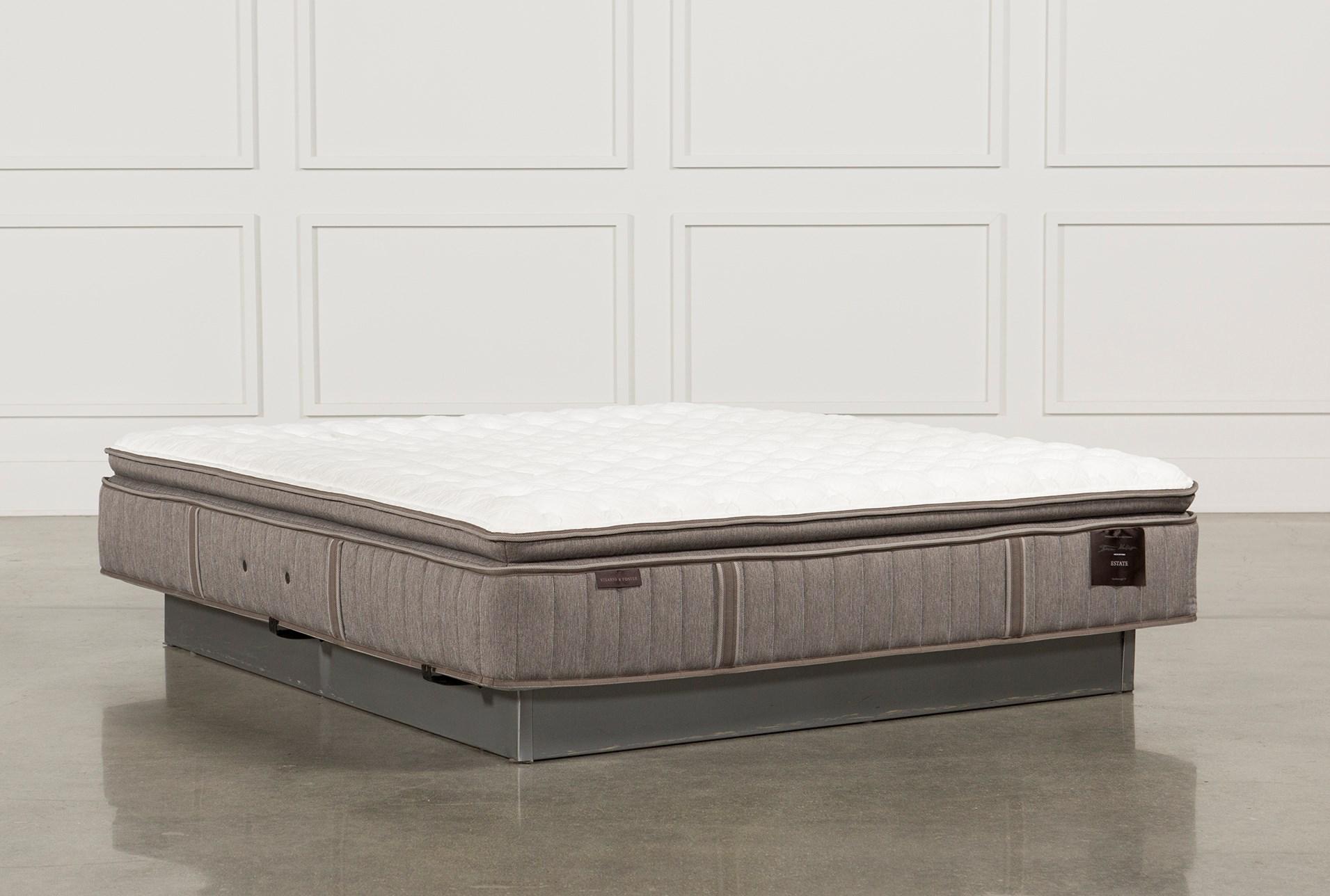 eastern king mattress cal scarborough firm euro pillow top eastern king mattress 360 living spaces
