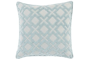 Accent Pillow-Avalon Geo Light Grey 20X20