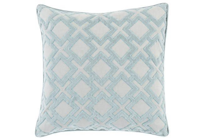 Accent Pillow-Avalon Geo Light Grey 20X20 - 360