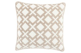 Accent Pillow-Avalon Geo Ivory 20X20
