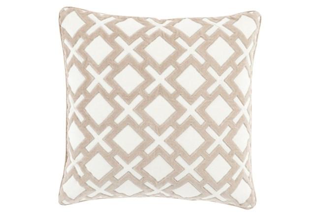 Accent Pillow-Avalon Geo Ivory 20X20 - 360