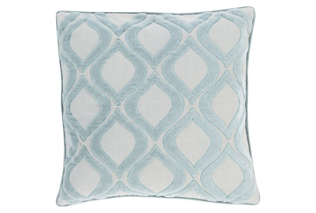 Accent Pillow-Abbott Geo Blue 20X20 - 360