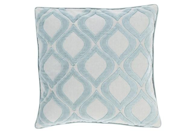 Accent Pillow-Abbott Geo Blue 22X22 - 360