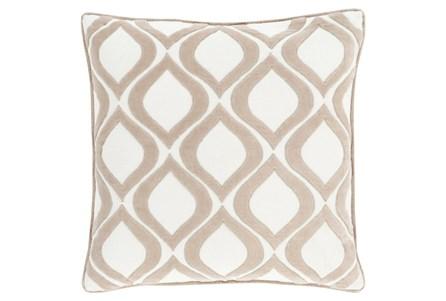 Accent Pillow-Abbott Geo Ivory 22X22