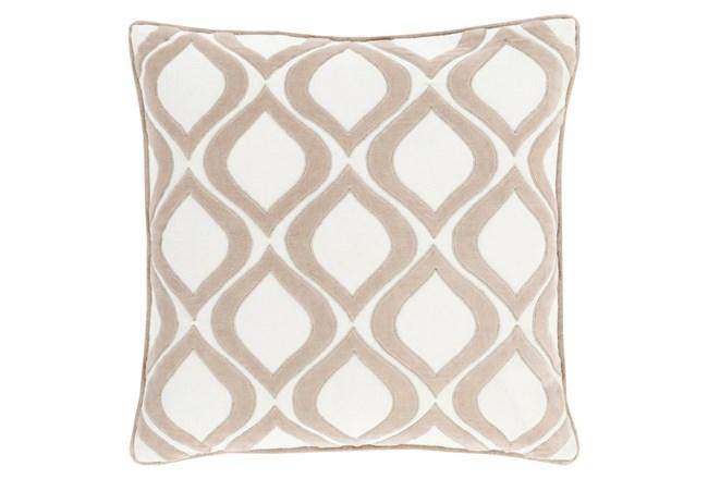 Accent Pillow-Abbott Geo Ivory 22X22 - 360