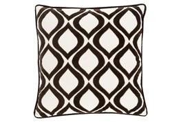 Accent Pillow-Abbott Geo Ivory/Black 20X20