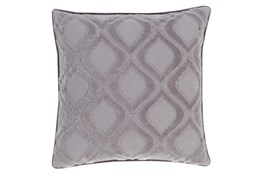 Accent Pillow-Abbott Geo Charcoal Grey 20X20