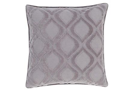 Accent Pillow-Abbott Geo Charcoal Grey 22X22