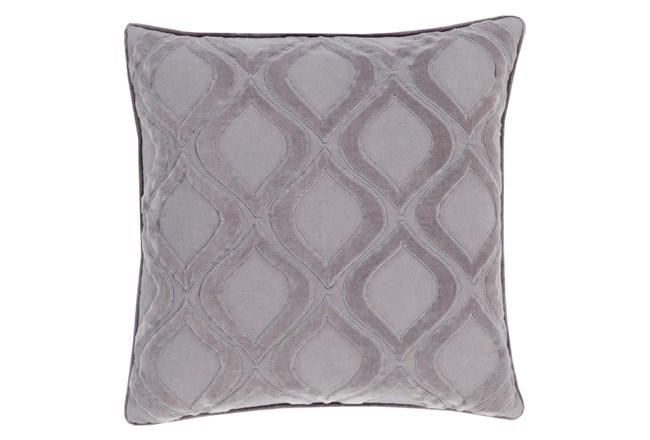 Accent Pillow-Abbott Geo Charcoal Grey 22X22 - 360
