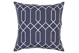 Accent Pillow-Nicee Geo Slate/Light Grey 20X20