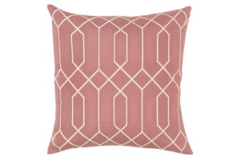 Accent Pillow-Nicee Geo Rose Beige 20X20