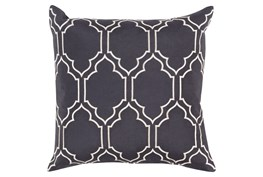 Accent Pillow-Norinne Geo Slate/Light Grey 18X18