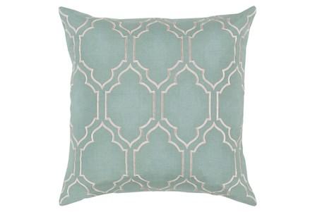 Accent Pillow-Norinne Geo Moss/Light Grey 20X20