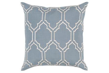 Accent Pillow-Norinne Geo Moss/Beige 18X18