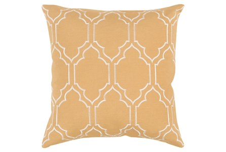 Accent Pillow-Norinne Geo Gold/Beige 20X20
