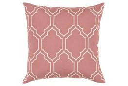 Accent Pillow-Norinne Geo Rose/Beige 20X20