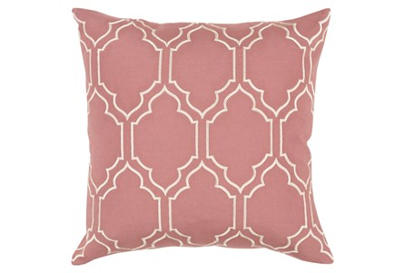 Accent Pillow-Norinne Geo Rose/Beige 20X20
