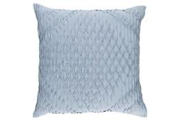 Accent Pillow-Annette Solid Blue 18X18