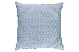 Accent Pillow-Annette Solid Blue 18X18