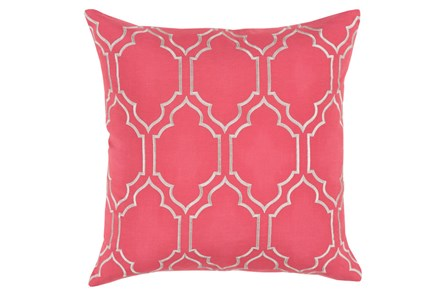 Accent Pillow-Annette Solid Natural 18X18
