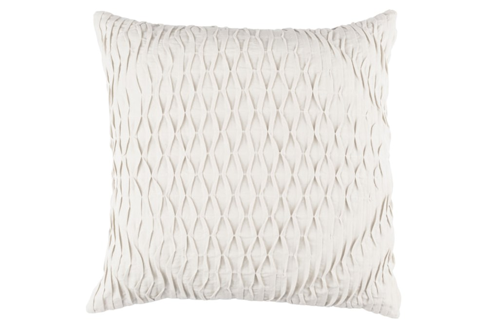 Accent Pillow-Annette Solid Grey 18X18