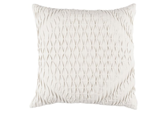 Accent Pillow-Annette Solid Grey 18X18 - 360